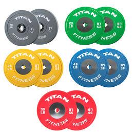 LB Elite Color Bumper Plates