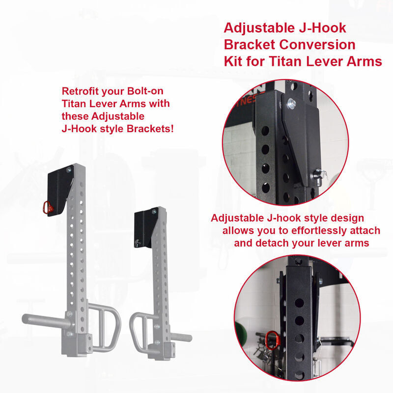 Adjustable Bracket Conversion Kit for TITAN Lever Arms