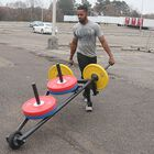 Weighted Wheel Barrow | Plate Loadable