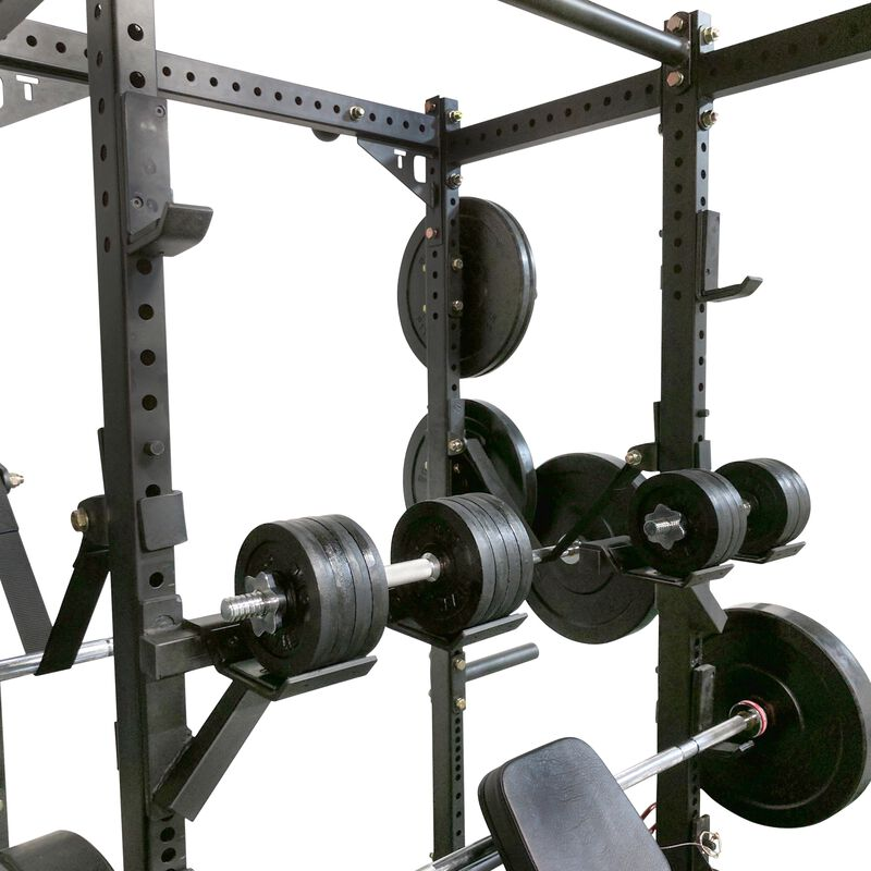 Dumbbell Weight Bar Holders for T-3 Power Rack