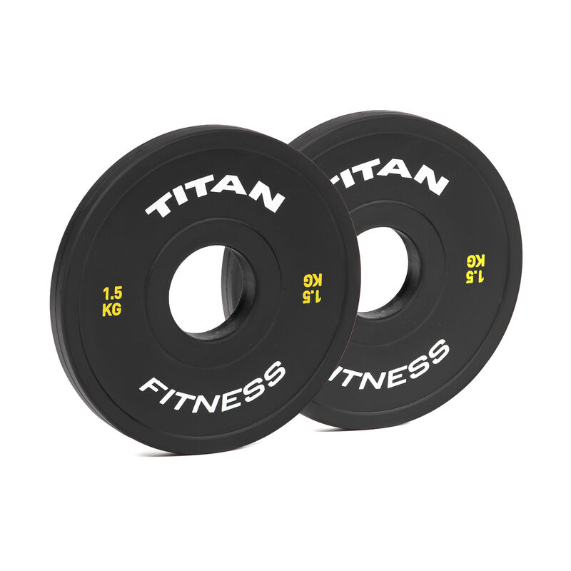 1.5 KG Pair Black Change Plates