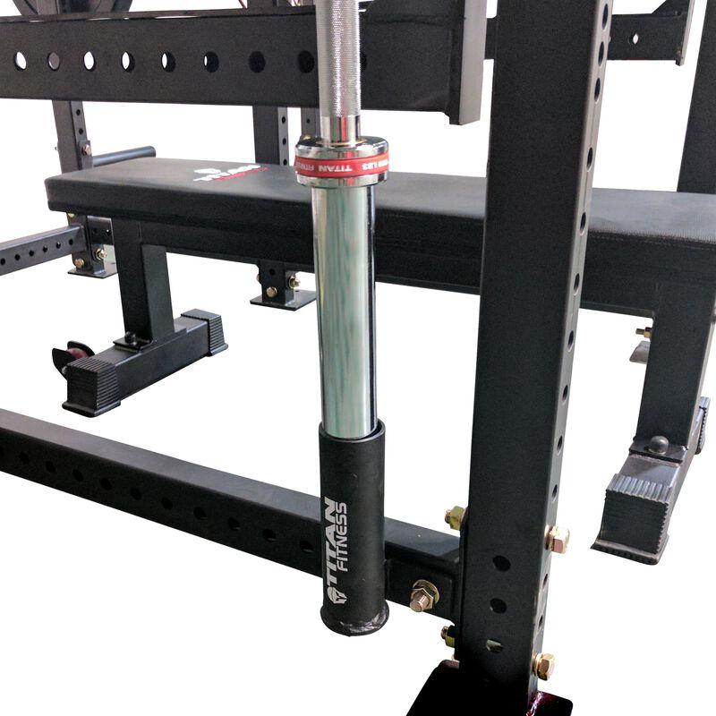 Single Titan Horizontal Mount Barbell Holder for T-3 Power Rack