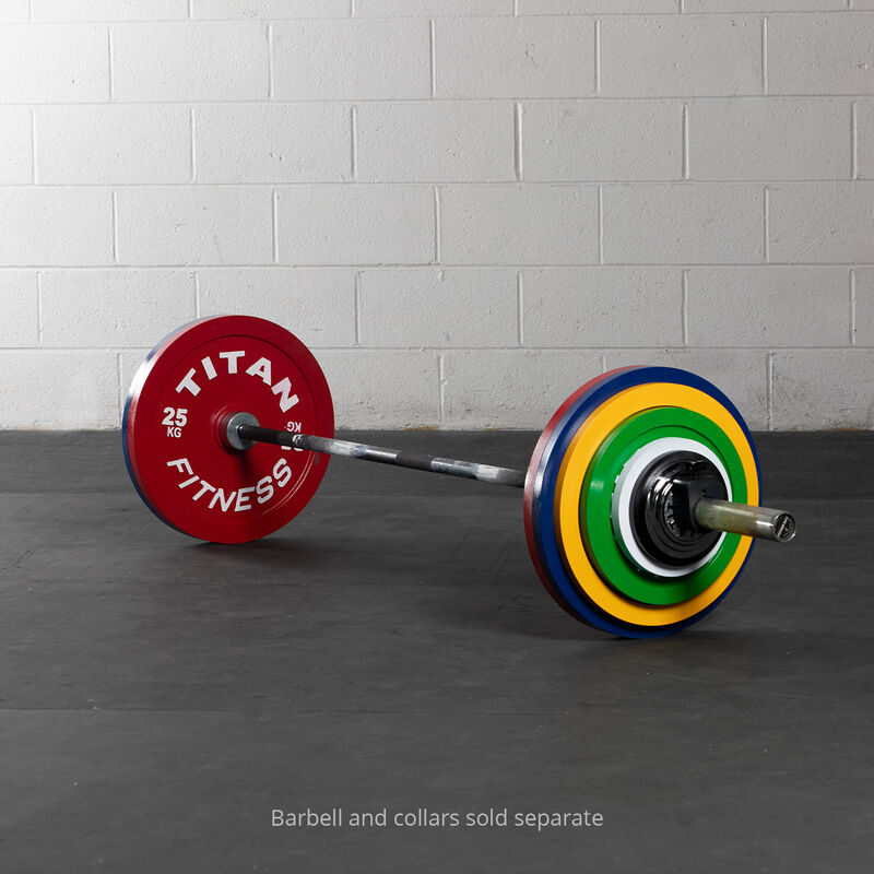 159 KG Set Calibrated Steel Plates