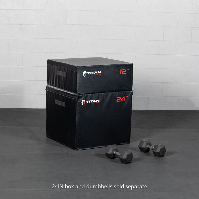 12-in Soft Foam Plyometric Box