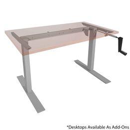 Hand Crank Adjustable Sit to Stand S5 Desk Frame