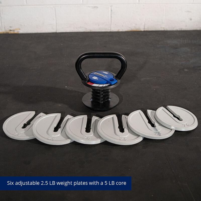 5 LB - 20 LB Adjustable Kettlebell