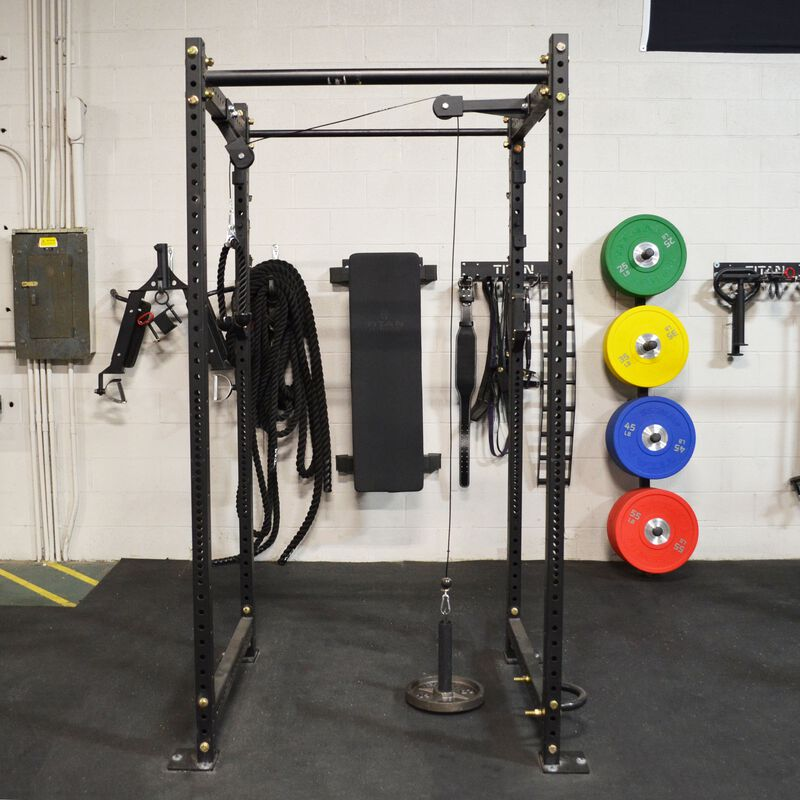 Tricep and Lat Pulley System for T-3