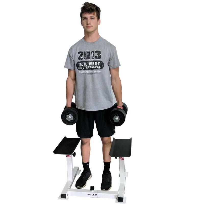 Adjustable Height Dumbbell Holder