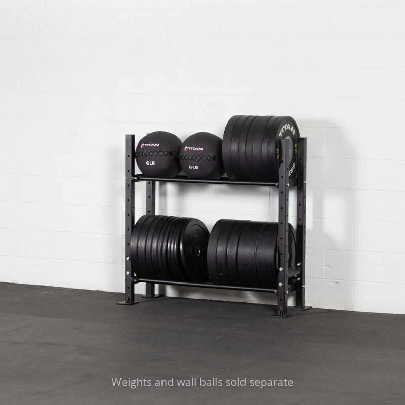 45.5-in 2-Tier Mass Storage System with 42-in Shelves