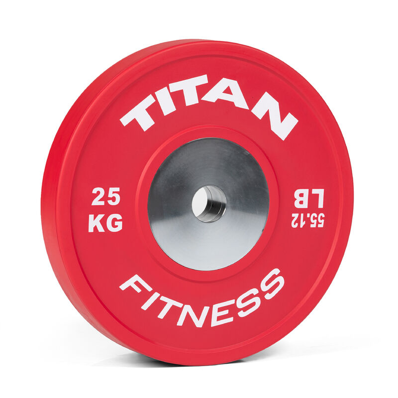 25 KG Single Elite Color Olympic Bumper Plate