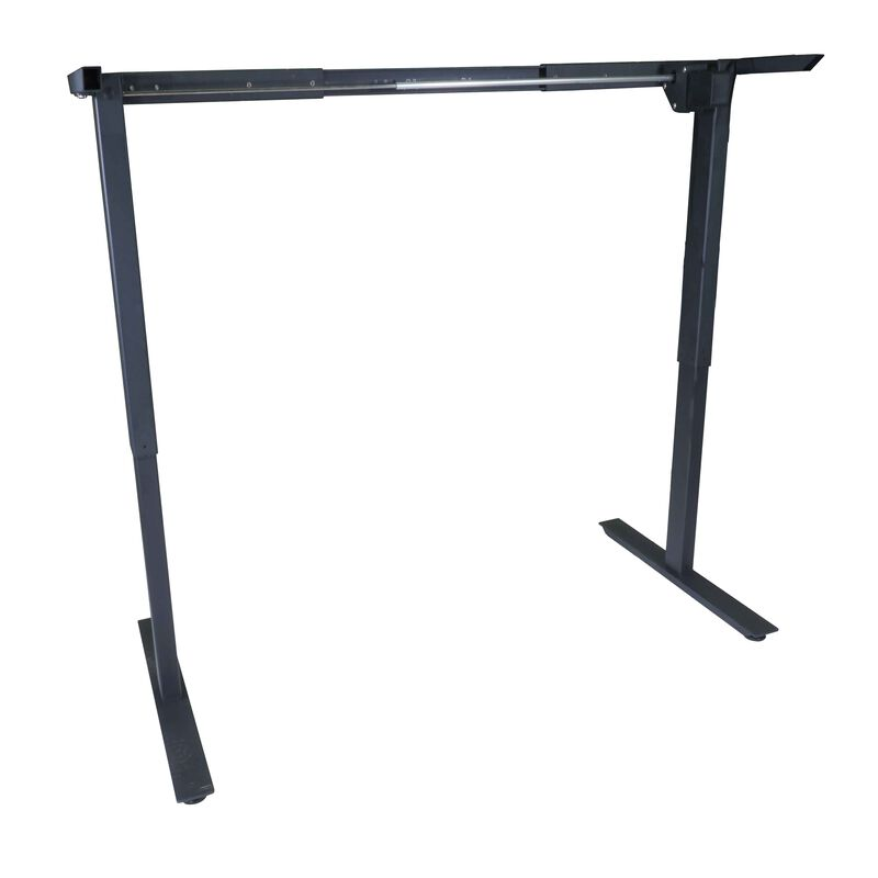 Single Motor Electric Adjustable Height A2 Sit-Stand Desk (Black)