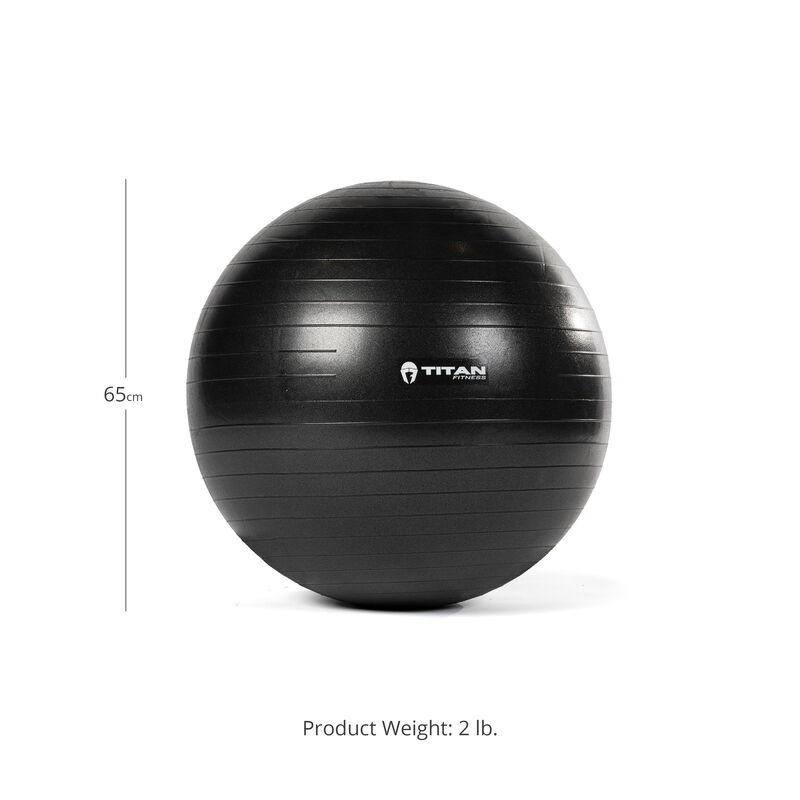 65 cm Exercise Stability Ball w/ Pump