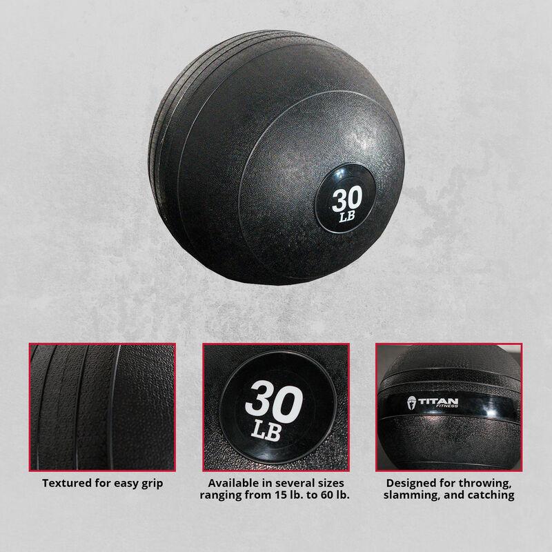 30 LB Slam Ball Rubber
