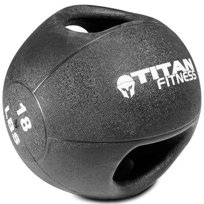 18lb Dual Grip Medicine Ball