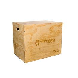 3-in-1 Wooden Plyometric Box – 20-in. 24-in. 30-in.