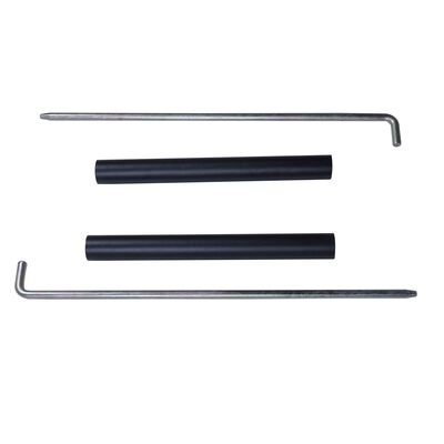 X-3 Series Half Rack Pin Pipe Safety Bars