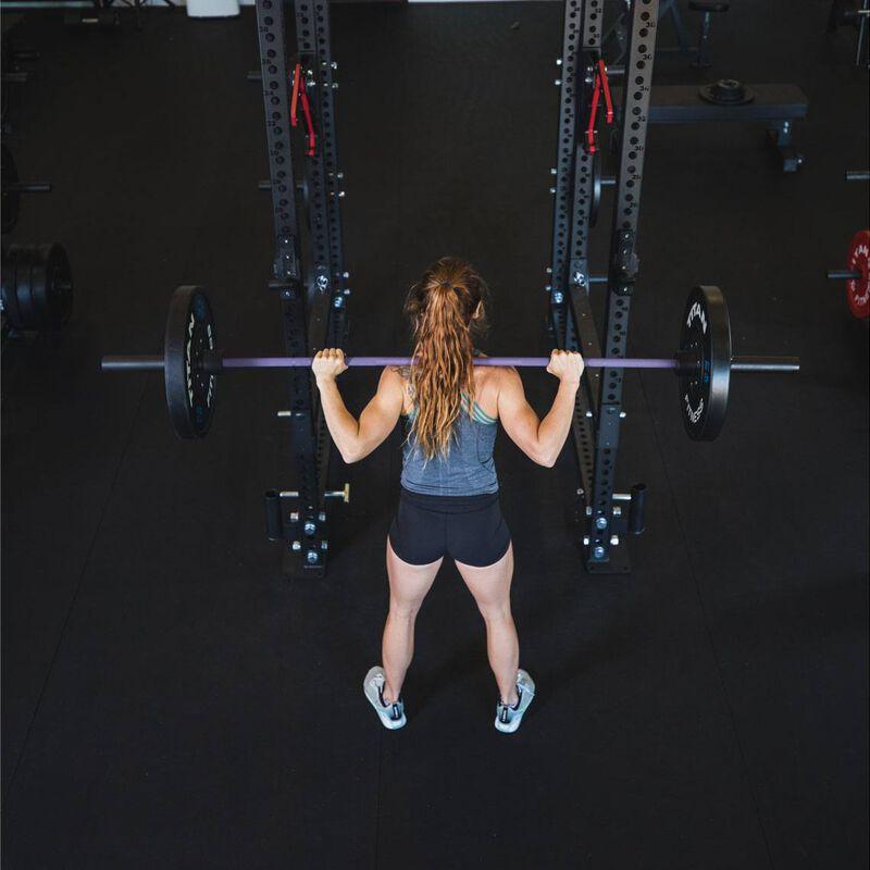 Women's Bombshell Olympic Barbell | Purple Cerakote