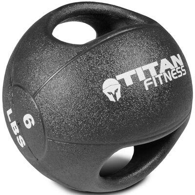 6lb Dual Grip Medicine Ball