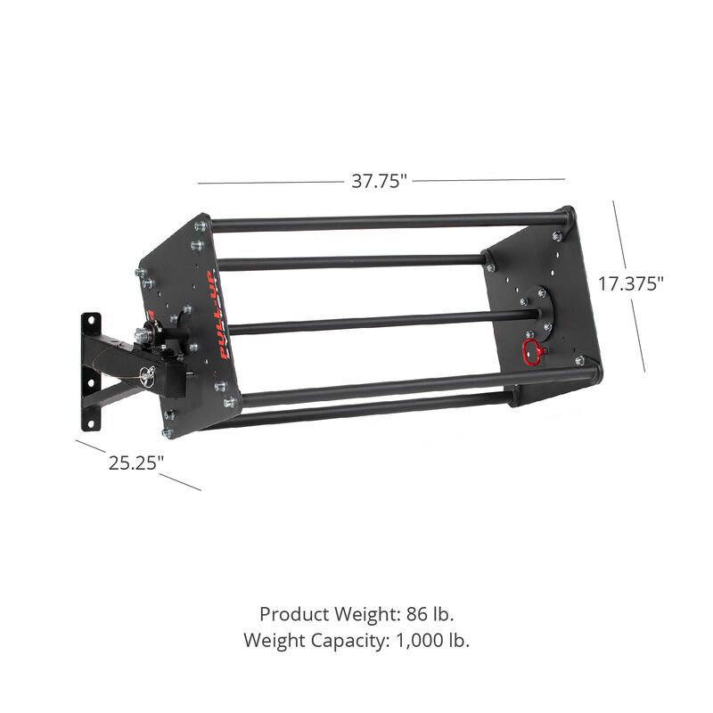 T-3 and X-3 Series Revolving 1.25-in Pull-Up Bars