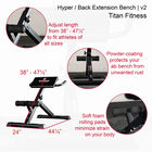 Hyper / Back Extension Bench | v2