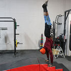 Gymnastics Incline and Step Mat Combo   Handstand Obstacle