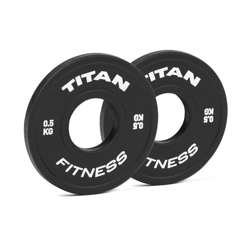 0.5 KG Pair Black Change Plates