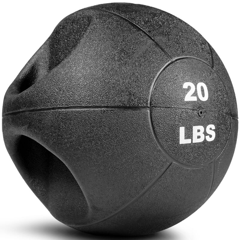 20lb Dual Grip Medicine Ball