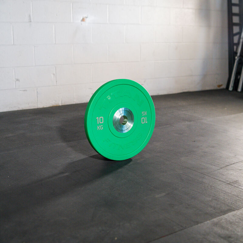 10 KG Single Color Urethane Bumper Plate
