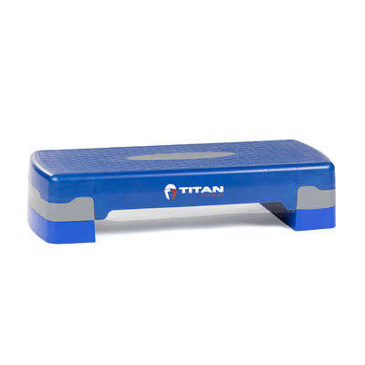 26-in Adjustable Aerobic Step With Risers