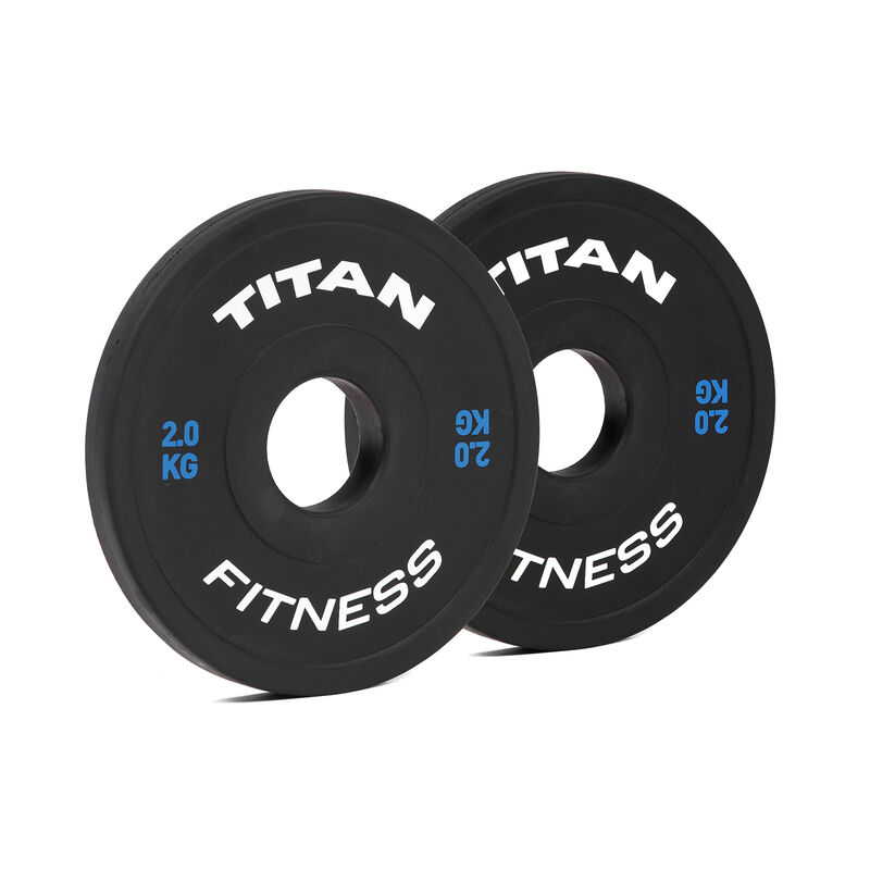 2 KG Pair Black Change Plates