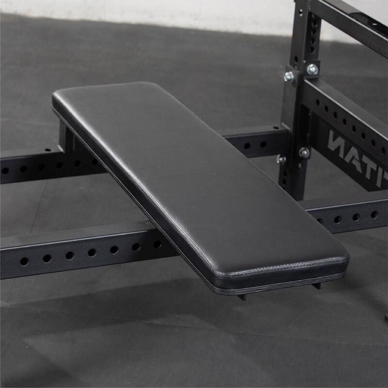 Bench Press Rack With Flip Down Safeties