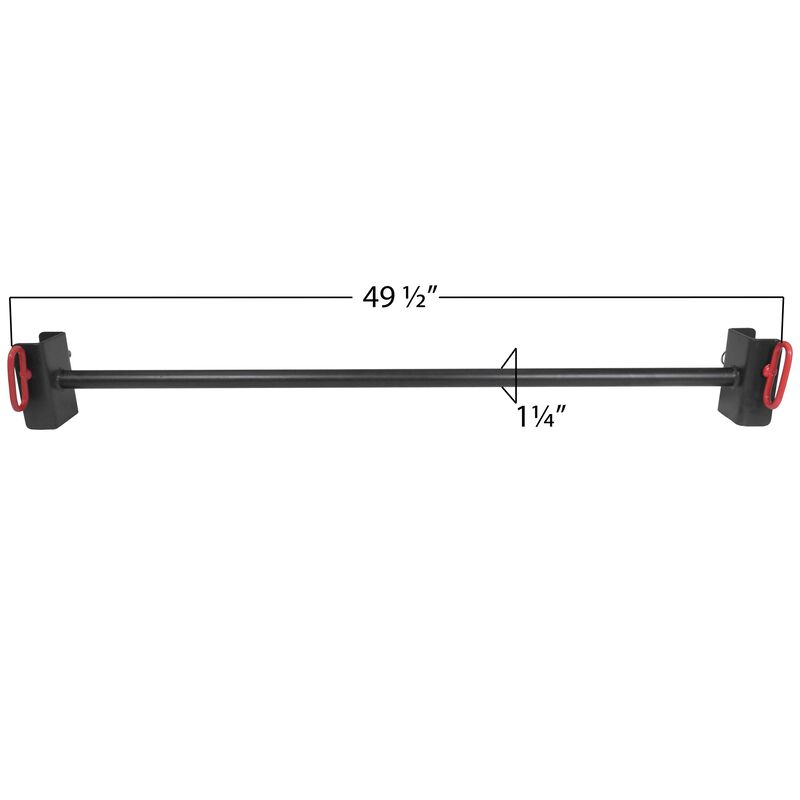 """1.25"""" Pull Up Bar For T-3 Folding Racks"""