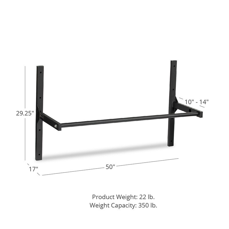 Small Adjustable Ceiling Wall-Mount Pull-Up Bar