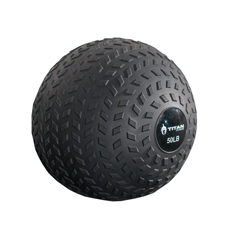 50 LB Rubber Tread Slam Ball