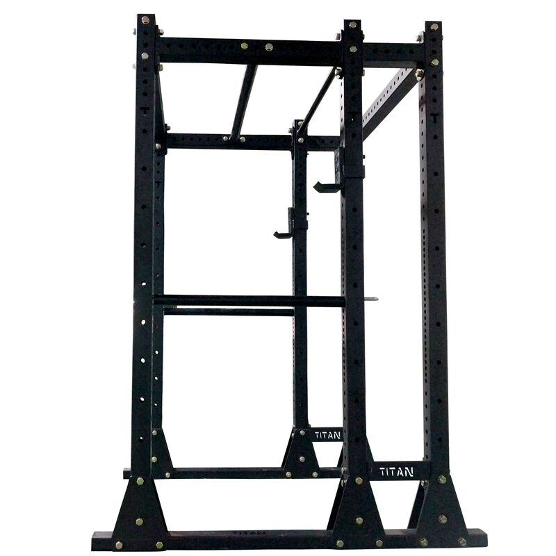 "X-3 Series Flat Foot Power Rack | Short with 10"" Extension"