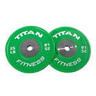 Elite Color Bumper Plates – 25 lb. Pair