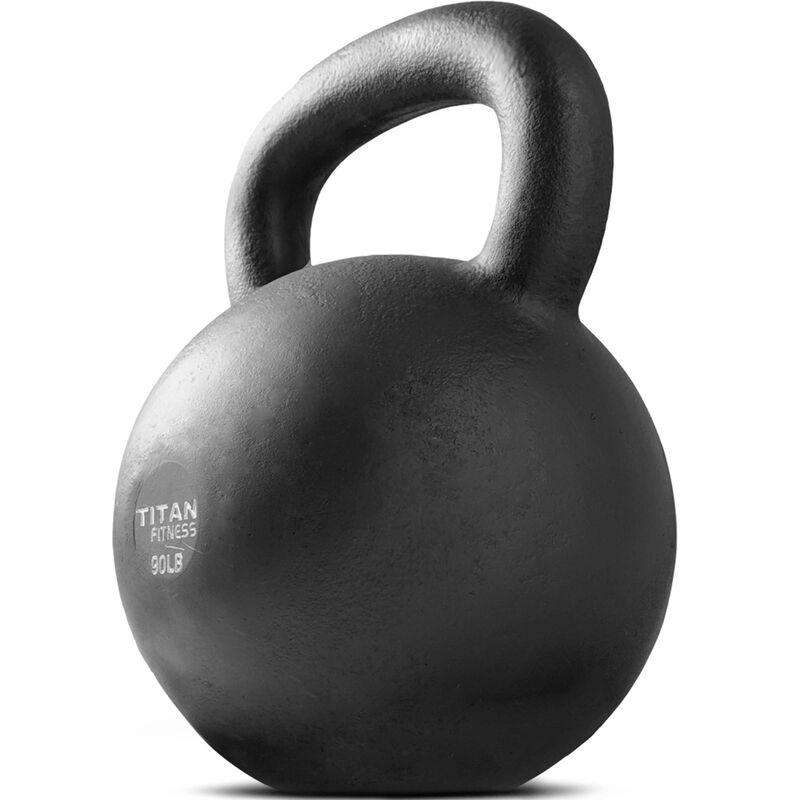 Cast Iron Kettlebell Weight - 90 lb