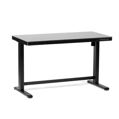 Titan Adjustable Glass Top Standing Desk