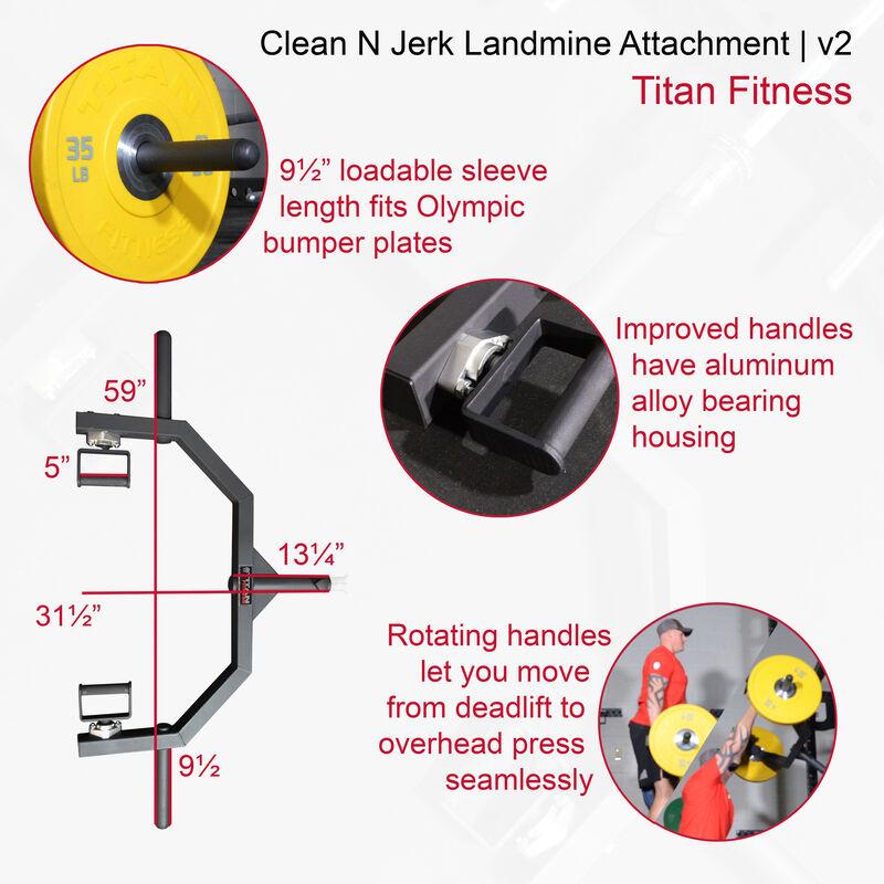 Clean N Jerk Landmine Attachment   v2