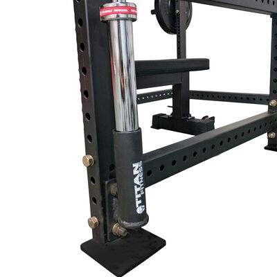 Single Vertical Mount Barbell Holder for T-3 Power Rack