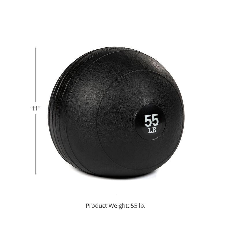 55 LB Rubber Slam Ball