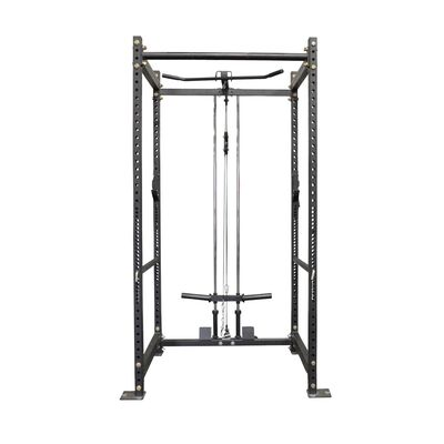 "T-3 Series Short Power Rack and Pulley Tower Combo | 24"" Depth Rack"