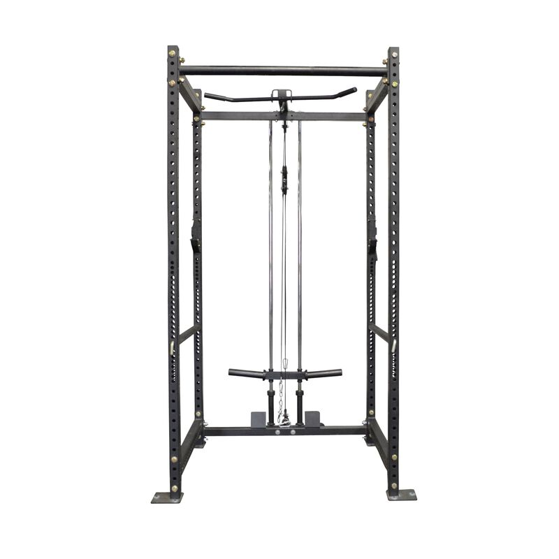 T-3 Power Rack with Lat Pulley Tower Combo