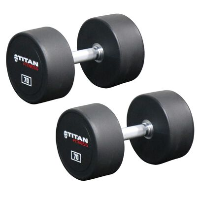 Urethane Dumbbells | 70 LB | Pair