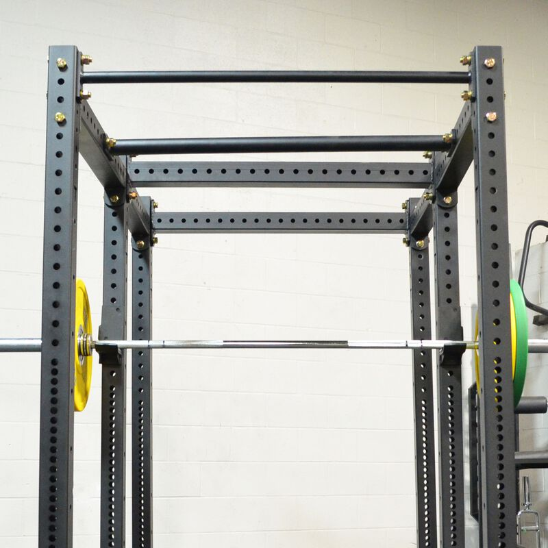 """X-3 Series Flat Foot Power Rack   Tall with 24"""" Extension"""