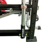 Pair Of Horizontal Mount Olympic Barbell Holders For X-3 Power Rack