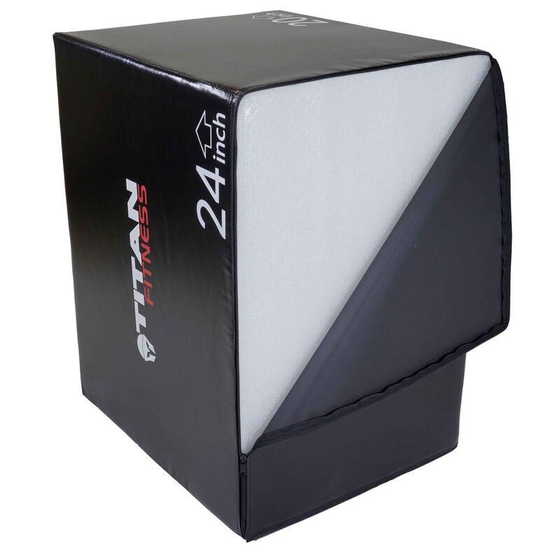 "3-In-1 Soft Foam Plyometric Box 20"" 24"" 30"""