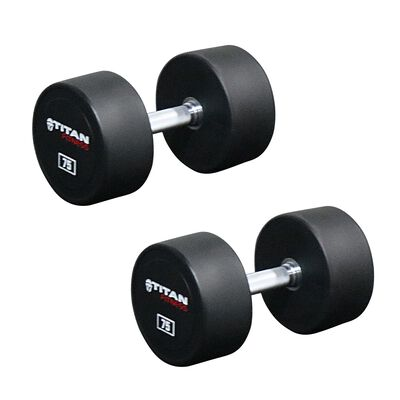 Urethane Dumbbells | 75 LB | Pair