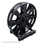 Horizontal Wagon Wheel Storage
