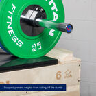 Stackable Wood Jerk Blocks with Silencer Pad